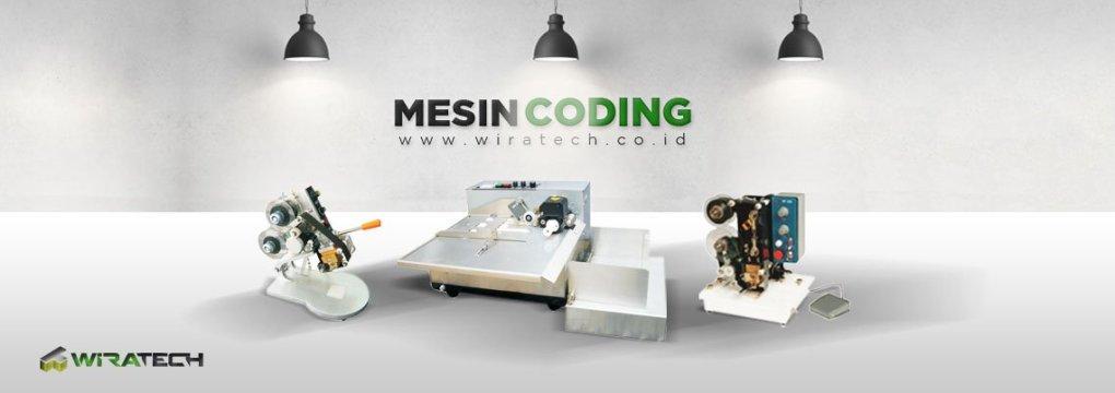 mesin pencetak kode wiratech