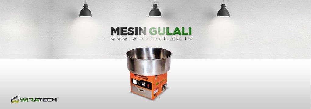 Banner Mesin Gulali