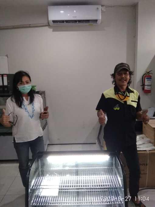 13. Ibu Ayu Inten - Denpasar - Display Cooler RTW-160L - 27 Agustus 2020