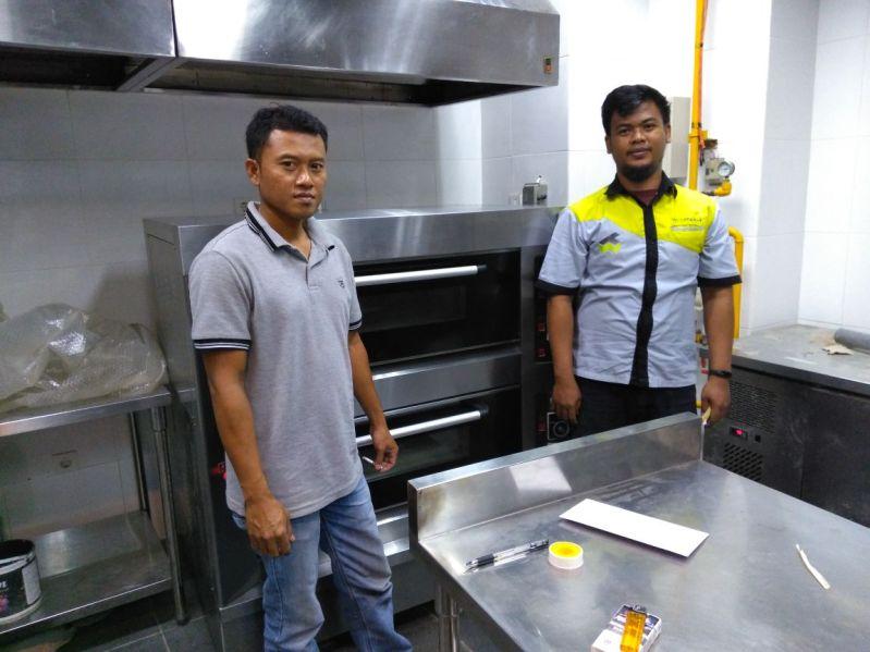 Arta Maya Boga, Jakarta, Gas Oven Pizza