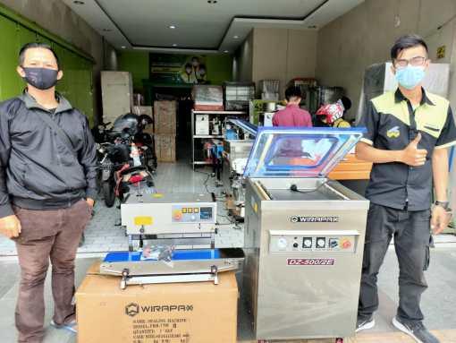 5. Decky Affandi - Gajah Mekar Bandung - Continuous Sealer Vertical FRB-770II dan Vacuum Machine DZ-500 2E - 10 Desember 2020