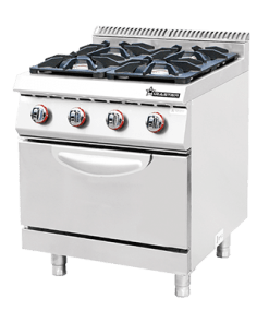 Commercial Gas 4 Burner with Oven CKB-700GO