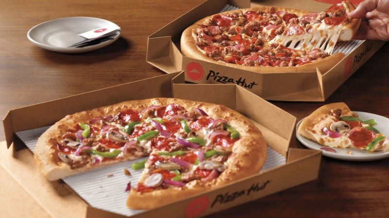 Menu Pizza Hut