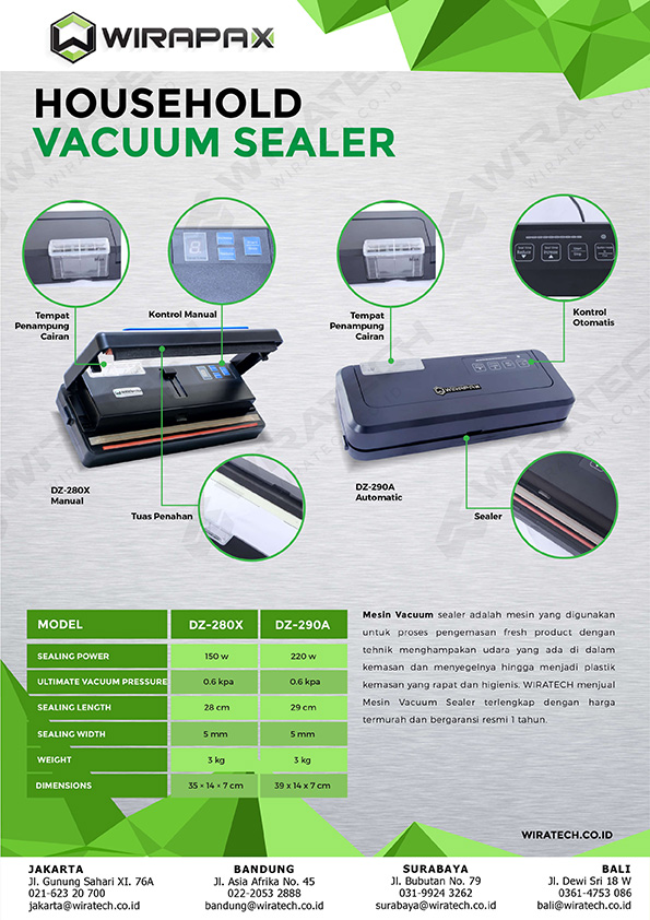 Vacuum sealer household DZ SERIES