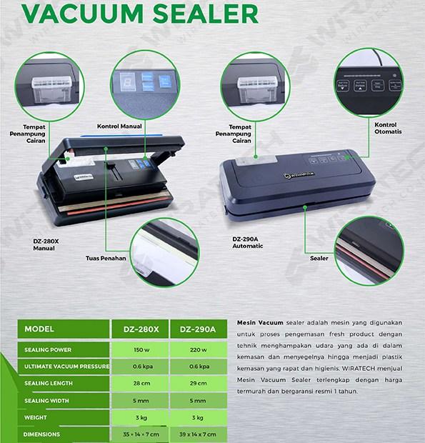 Vacuum sealer household DZ SERIES