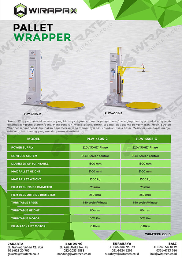 pallet wrapper WPW-SERIES