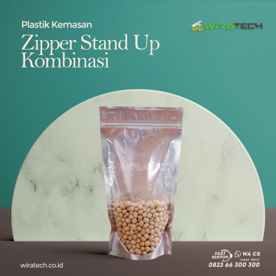kombinasi stand up zipper cover