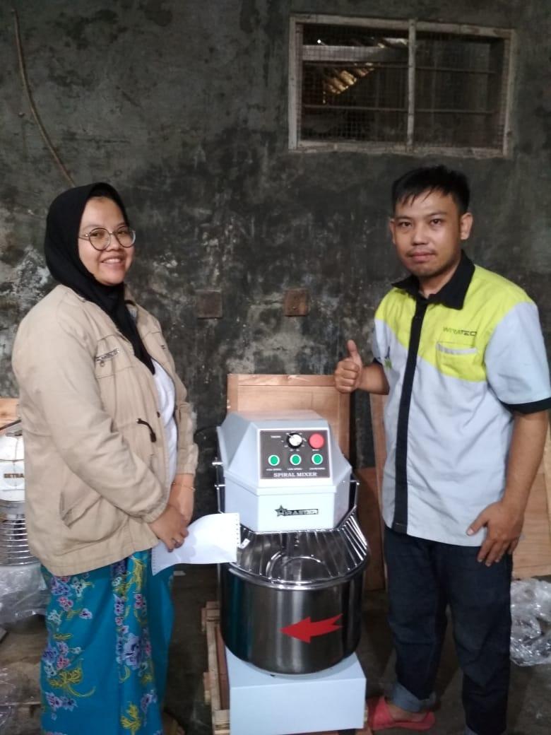 1. Baba Bakery - Cihampelan Cililin - Spiral Mixer 30L-BHS-30A - 11 Januari 2020 - DONE