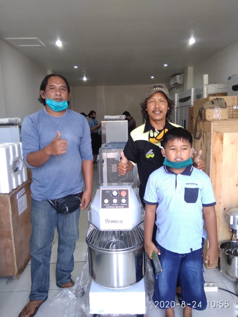 10. Pak Made Dwi - Negara - Spiral Mixer B-30 - 24 Agustus 2020