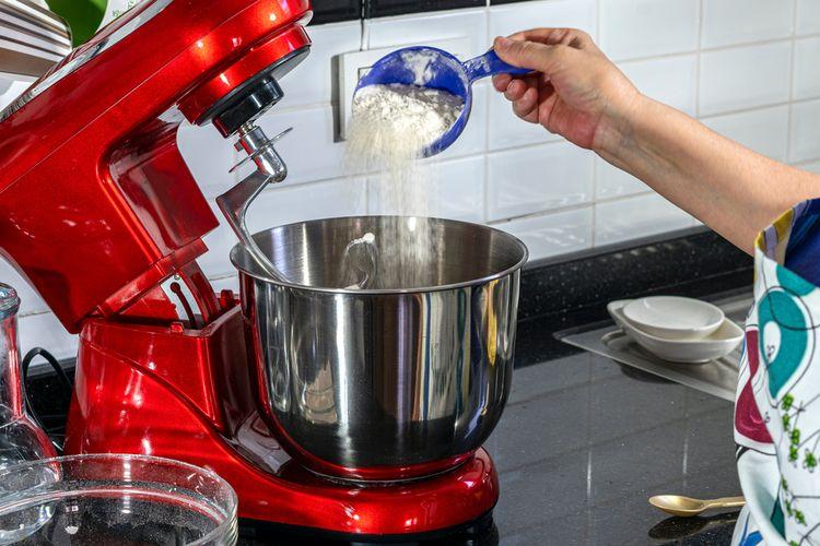 Mixer Roti Biasa