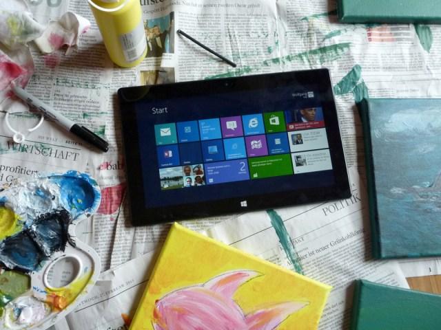 Erfahrungen nach 4 Wochen mit dem Microsoft Surface Tablet 1