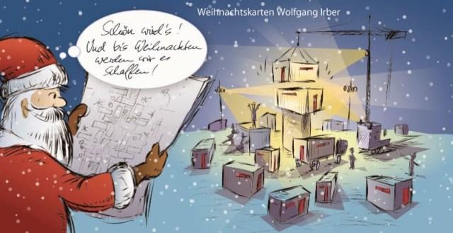 Das Ende der Weihnachtskartensaison 2