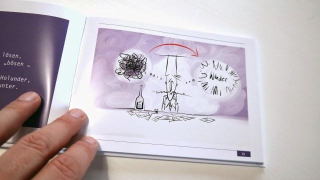 Frisch aus der Presse: Buchillustration 7