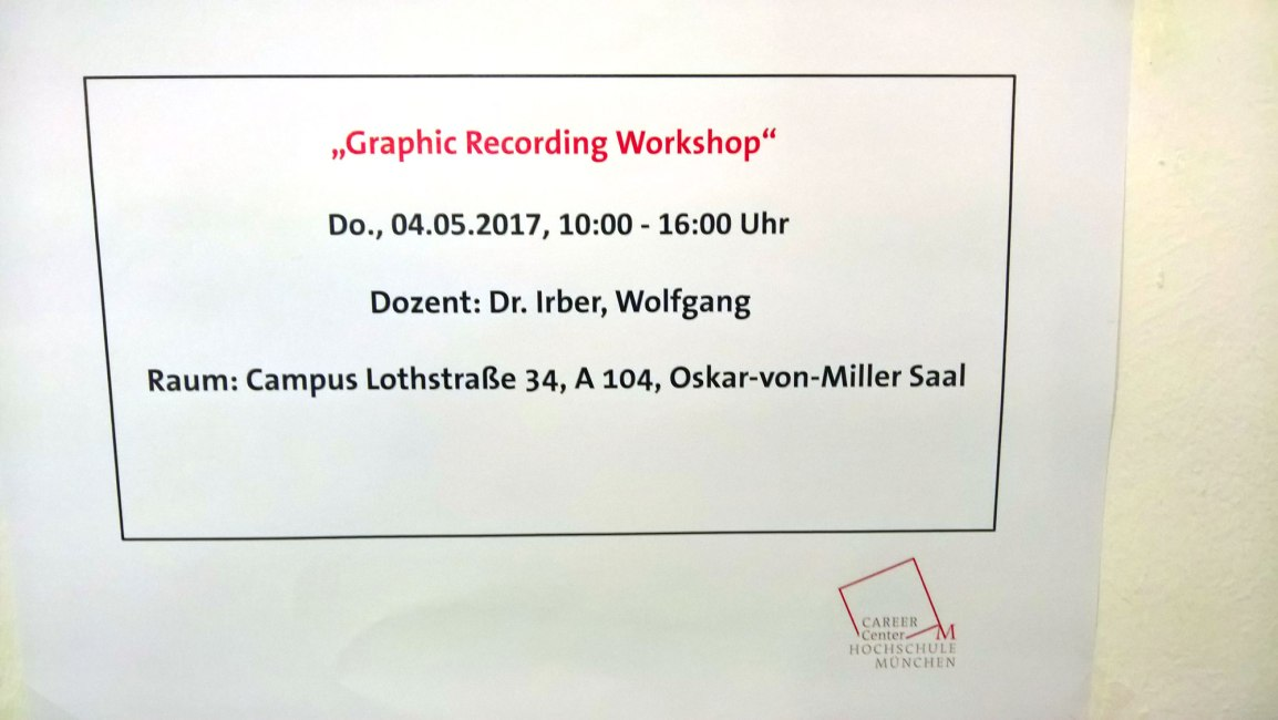 Workshop-Ankündigung