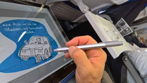 bem-Zeichnen-im-Flieger