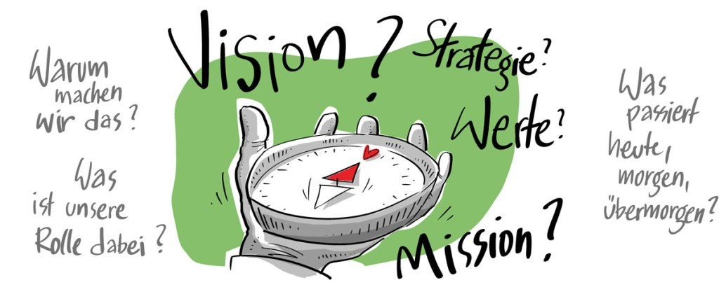 Vision? Strategie? Werte? Mission?