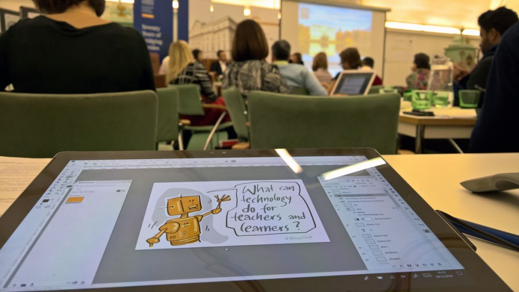 Live-Visualisierung & Graphic Recording 1