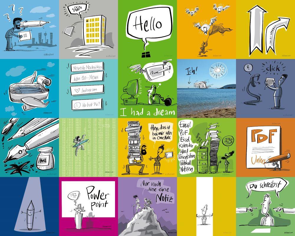 Collage Surface Kurs
