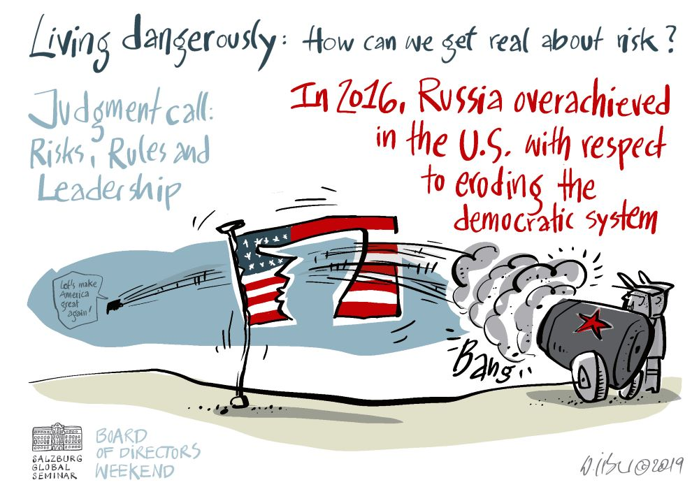 Russia overachieved in the U.S