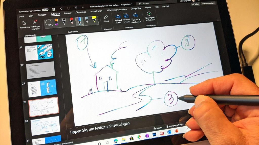 Ein Plädoyer für mehr Stift in der digitalen Welt - die Verwendung des Surface Pen im Büroalltag 5