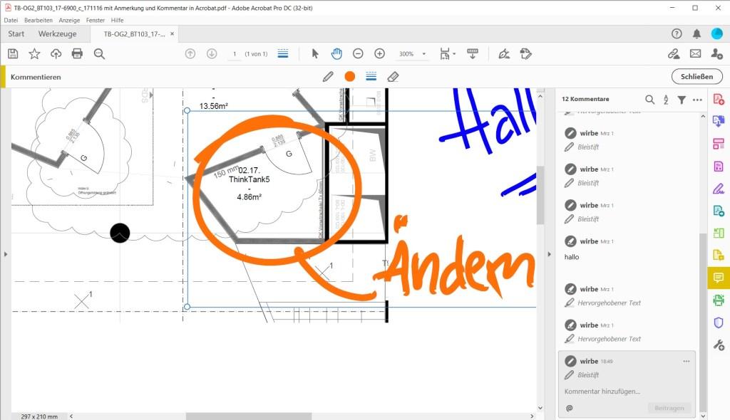 Ein PDF mit dem digitalen Stift bearbeiten: komplizierter als man denkt 12