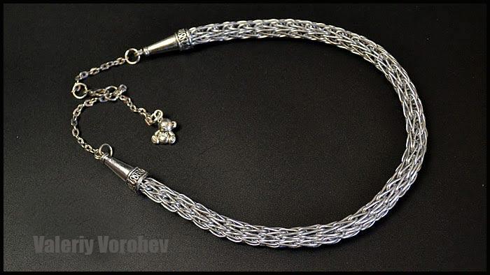 Viking Knit. Wire Wrap tutorial. Viking  jewelry.