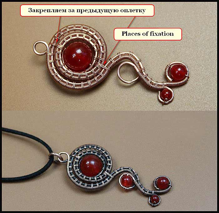 Wire wrapping tutorial. Wire Wrapped pendants