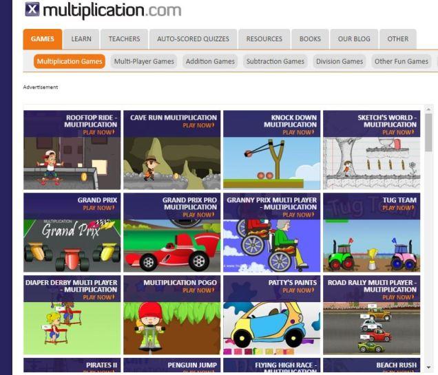 multiplication website