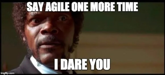 Samuel L. Jackson daring to use word agile one more time
