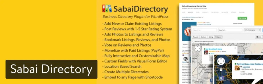 Sabai Directory WordPress plugin