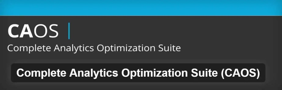 complete analytics optimization suite plugin