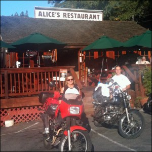 Mike and Kathy At Alices Retaurant