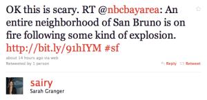 Twitter Sarah Granger