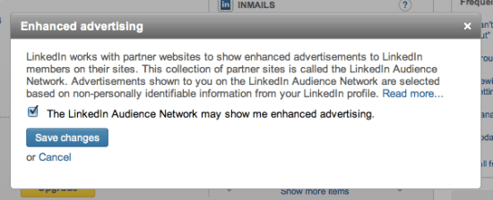 LinkedIn Enhanced Ads