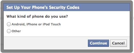 Facebook - ID phone