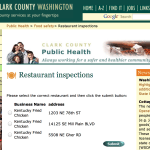 Clark County Public Health Dept