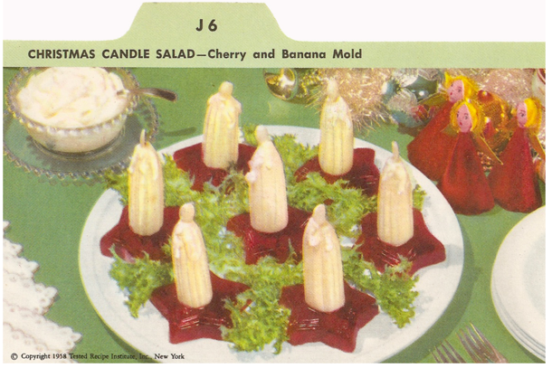 candle salad jellow