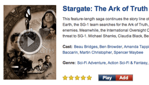 Stargate Search Entry