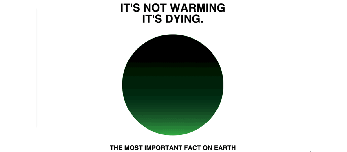 it's not warming