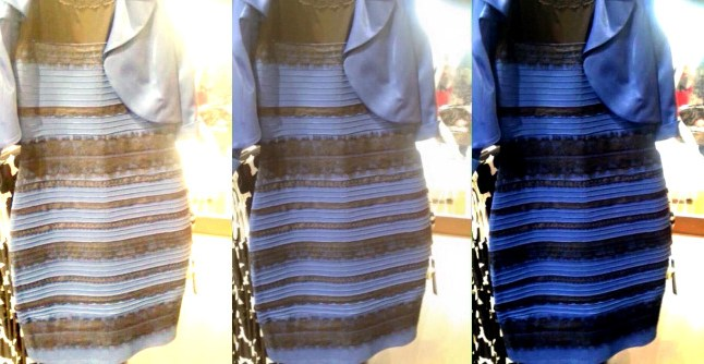 theDress - white gold blue black