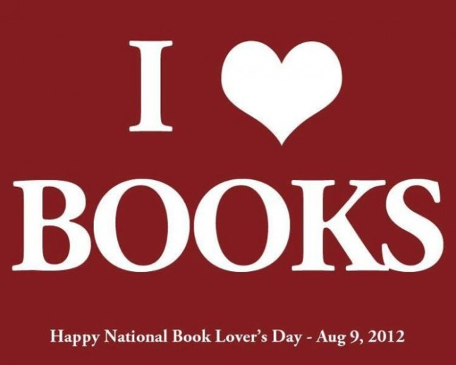 Book Lovers Day 2012