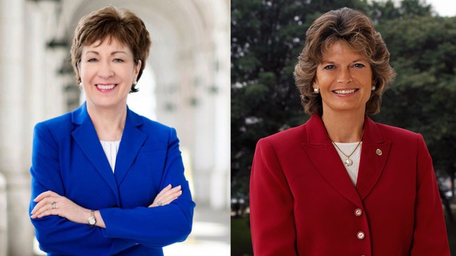 Sen. Collins (R-ME) and Sen. Murkowski (R-AK)