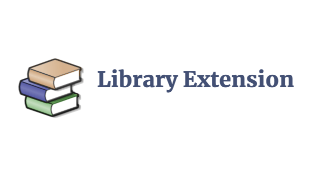 library extension
