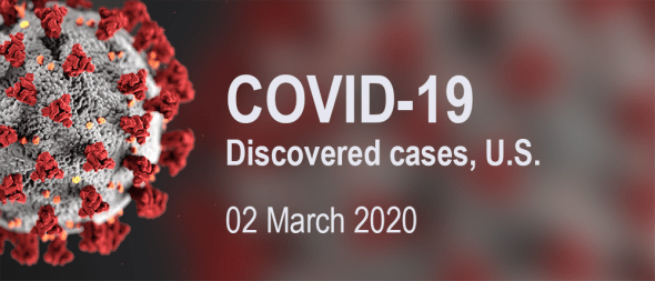 COVID-19 discovered cases – 02 March 2020