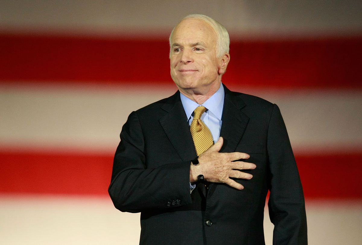 McCain concession