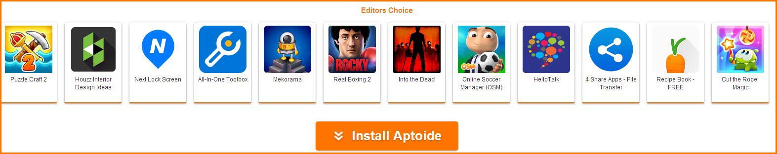 aptoide-apps-list
