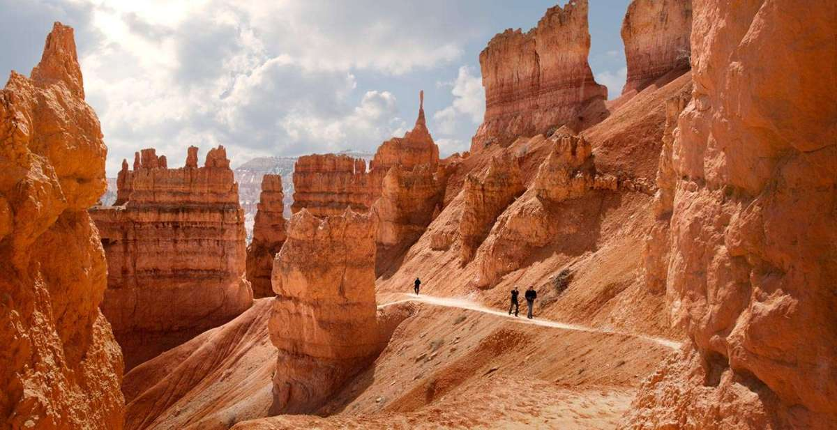 Hiking Trails At Bryce Canyon National Park