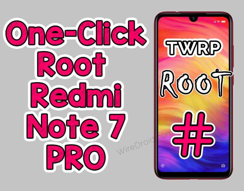 Redmi Note 7 Pro Root | Install TWRP + Magisk in One Click