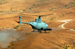 FireScout helicopter drone