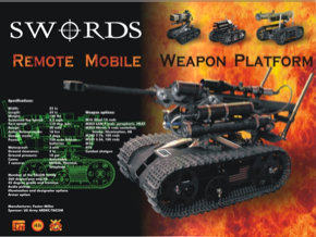 SWORDS (Special Weapons Observation Reconnaissance Detection System)